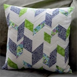 patchwork pillow : imagine gnats for kokka