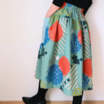Gathered Skirt with Yoke