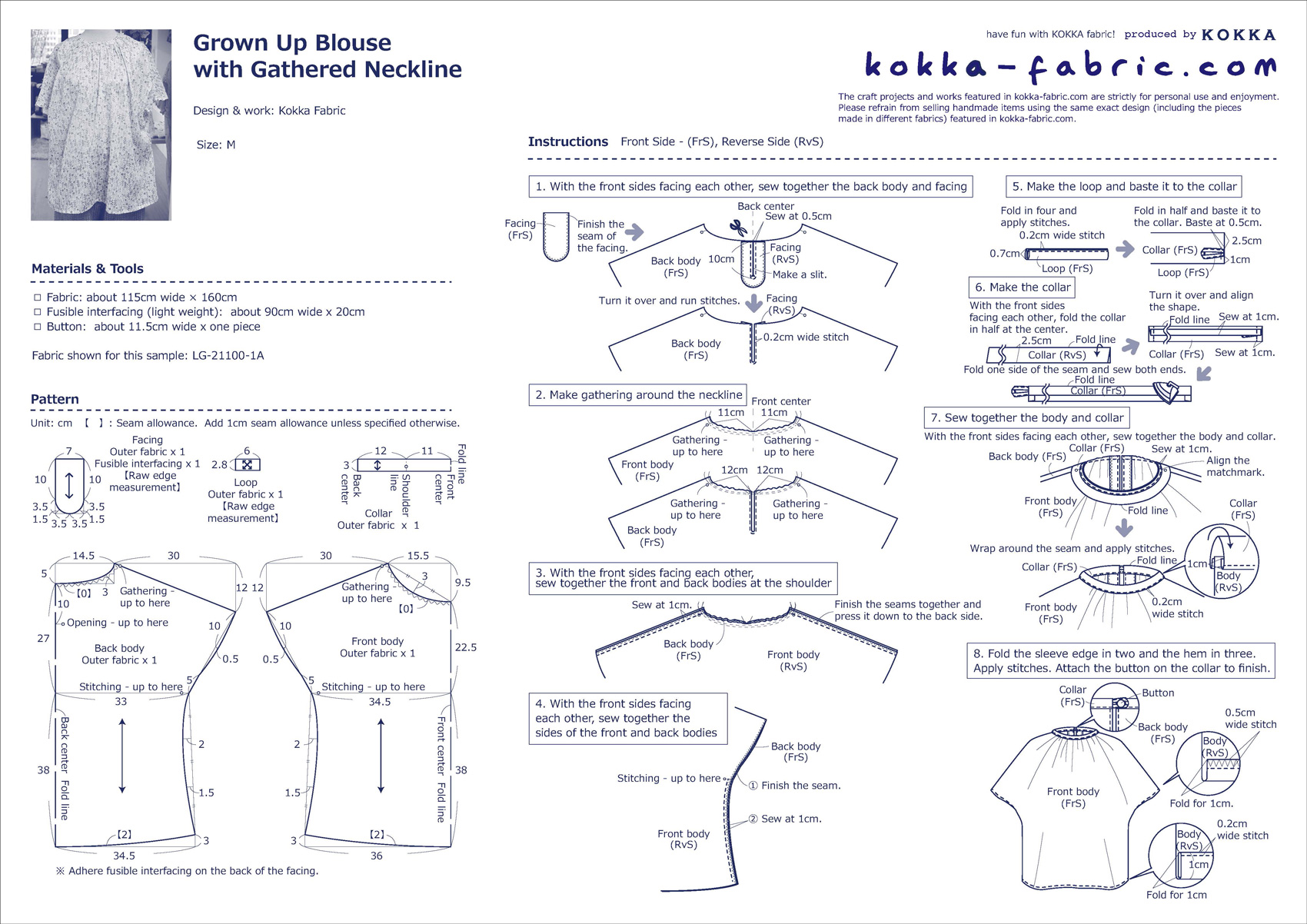 CS313_Grown-Up-Blouse-with-Gathered-Neckline_E