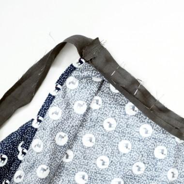 7ベルト縫い付け